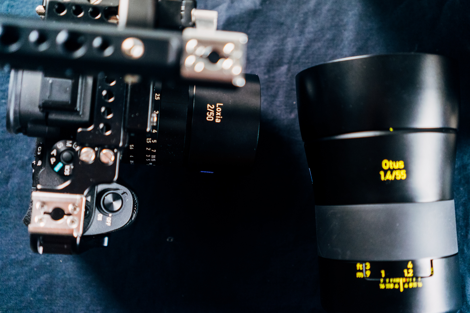 Test Zeiss: Otus vs Loxia vs Sony-Zeiss